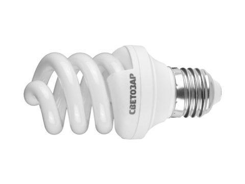 Лампа дневного света со стандартным цоколем