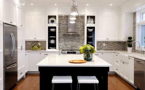 Равномерность освещения кухни
