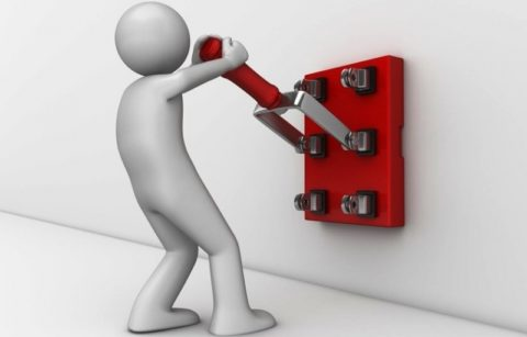 Снимаем напряжение с электроустановки