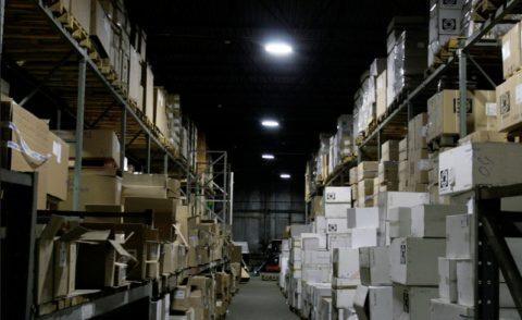 Аварийное освещение складского комплекса