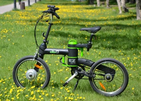 Детские велосипеды на электроприводе