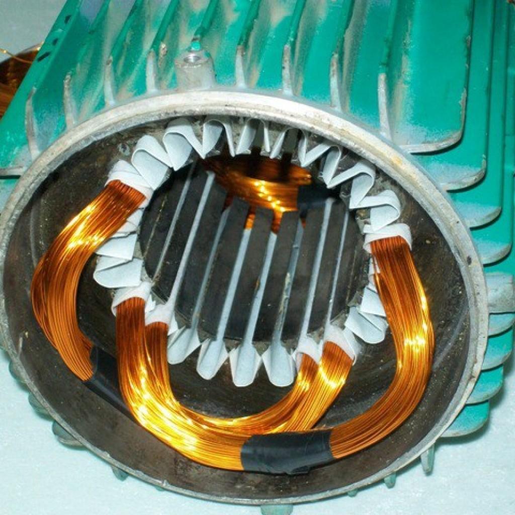 Электродвигатель изнутри