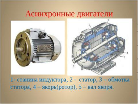 Однофазный коллекторный двигатель переменного тока