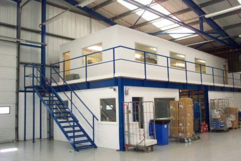 Офисное помещение складского комплекса