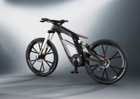 Велосипед на электроприводе от Audi