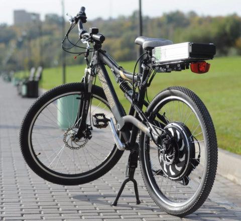 Велосипеды электроприводом могут оснащаться разного типа