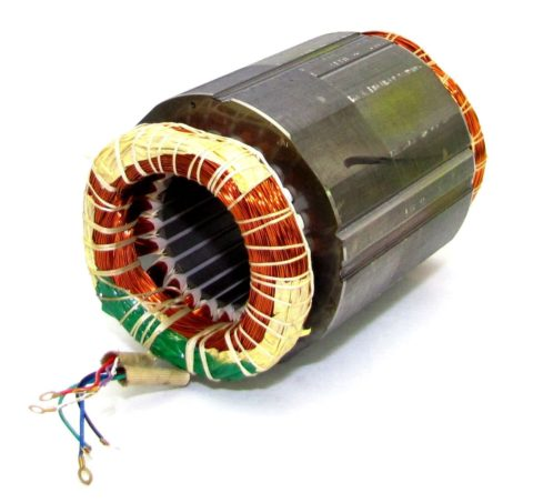 Электродвигатель коллекторный постоянного тока – статор