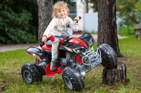 Квадроциклы нравятся не только мальчикам