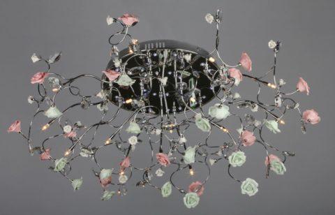 Китайские люстры светодиодные с пультом – светодиодные и галогенные лампы