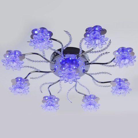 Люстра с пультом управления светодиодная «цветочный горшок»