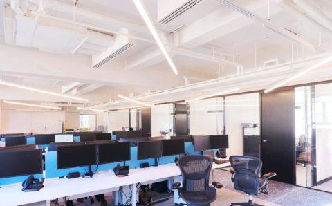 Дизайнерский свет в офисе