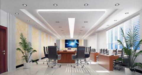 Организация офисного освещения