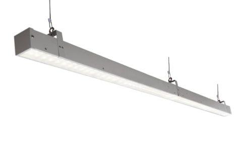 Потолочные офисные светодиодные светильники Слимлайт