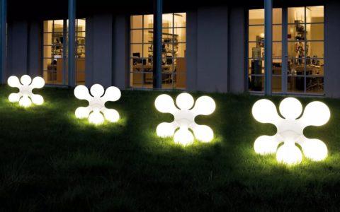 Дизайнерские светодиодные светильники для ландшафтного дизайна
