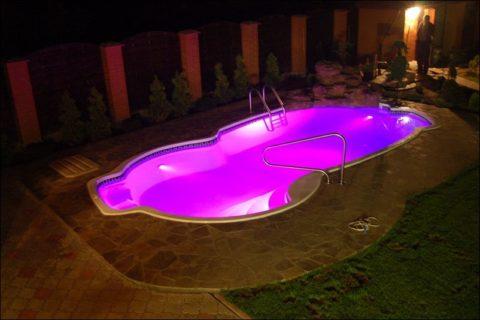 Подводные осветительные приборы