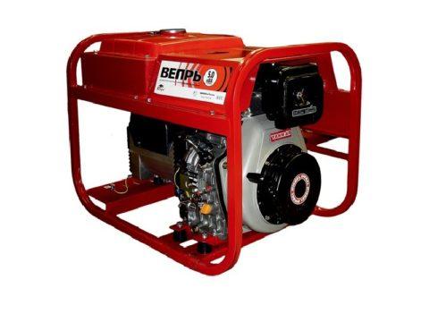 Дизель генератор «Вепрь» 5 кВт