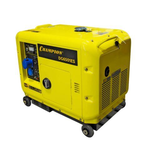 Генератор 5 кВт дизель CHAMPION DG6501ES