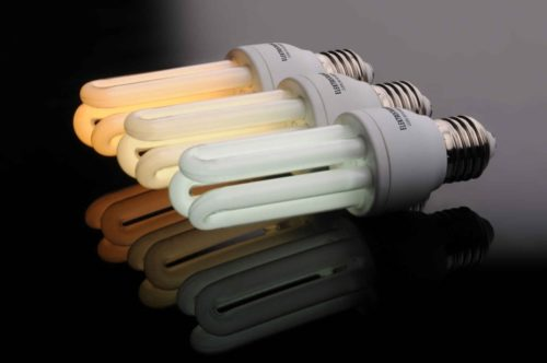 Люминесцентная лампа с цоколем Е 27