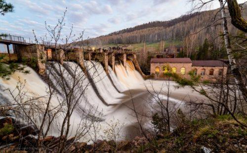 Старая челябинская ГЭС