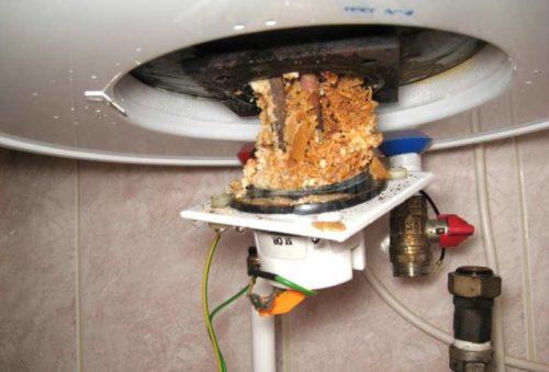 Электрический водонагреватель и неполадки