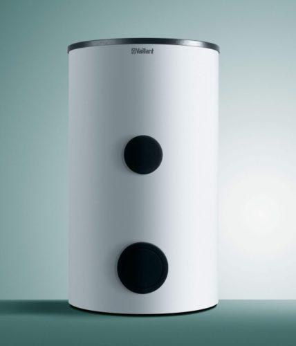 Стильная модель современного напольного водонагревателя